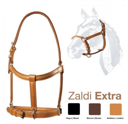 Quality double leather headcollar